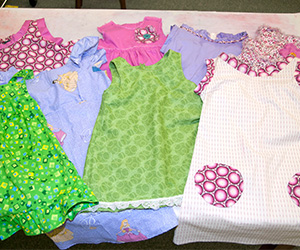 MSU students design dresses for orphans