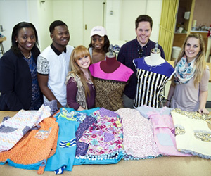 Apparel design class at MSU customizes dresses for Louisville girls